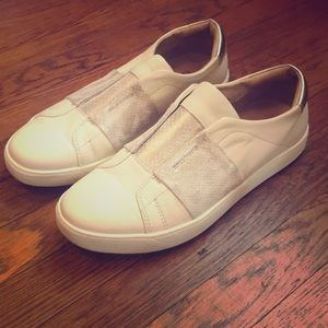 Johnston and Murphy Leather Sneakers - Worn Once